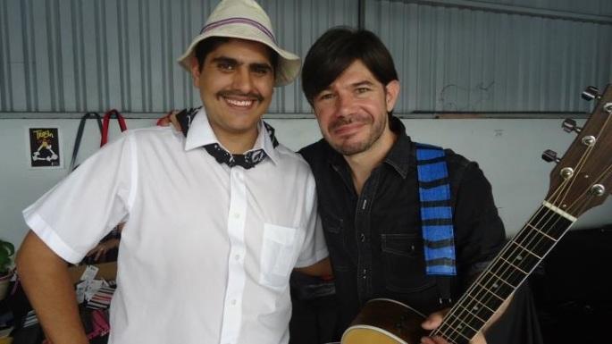 El guitarrista Federico Miranda nos estuvo acompañando en la celebración de la independencia 2011.