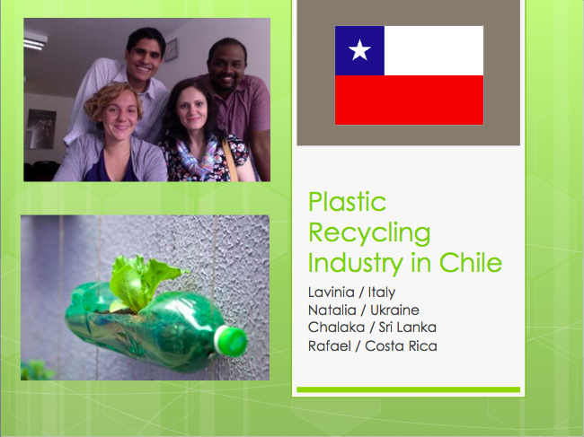 Plastic Recycling in Chile
