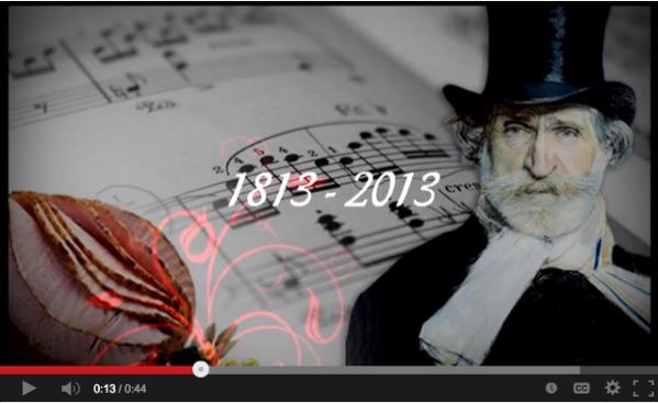 Video promocional Yo soy Giuseppe Verdi